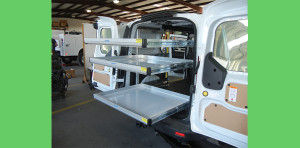 J&B customizes your truck/van body upfits with quality equipment.