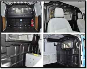 d6837368b0e1 J B can upfit your van with an Adrian Steel Partition By installing a van  bulkhead
