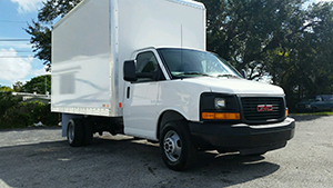 B.H. Electronics: New GMC Box Truck